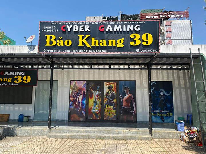 """Tọa độ Gaming mới """"toanh"""" tại Biên Hòa – Cyber Gaming Bảo Khang 39"""
