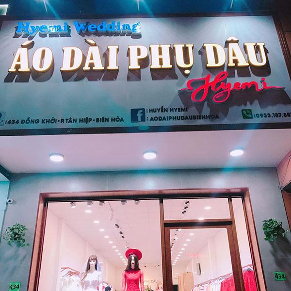 Hyemi - địa chỉ cho thuê áo dài phụ dâu cưới hỏi ở Biên Hòa