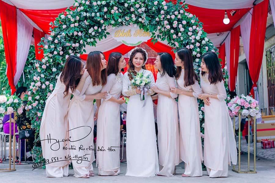 Ghé Hyemi – địa chỉ cho thuê áo dài phụ dâu cưới hỏi siêu đẹp ở Biên Hòa