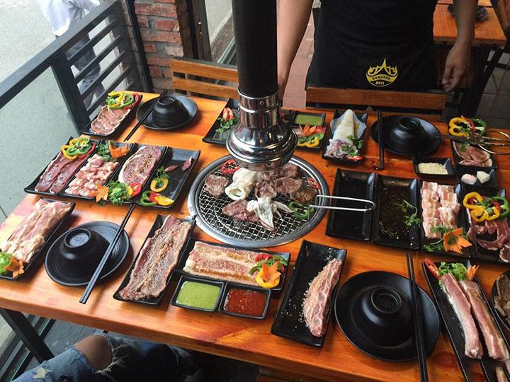 Khám phá 10 quán nướng BBQ siêu ngon ở Biên Hòa