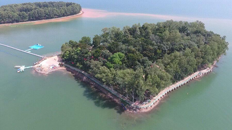 Khám phá Đảo Ó ốc đảo xanh xanh giữa muôn trùng sóng nước ở Đồng Nai