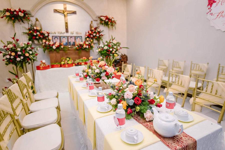 Điểm danh 9+ dịch vụ trang trí tiệc cưới tốt nhất Biên Hòa