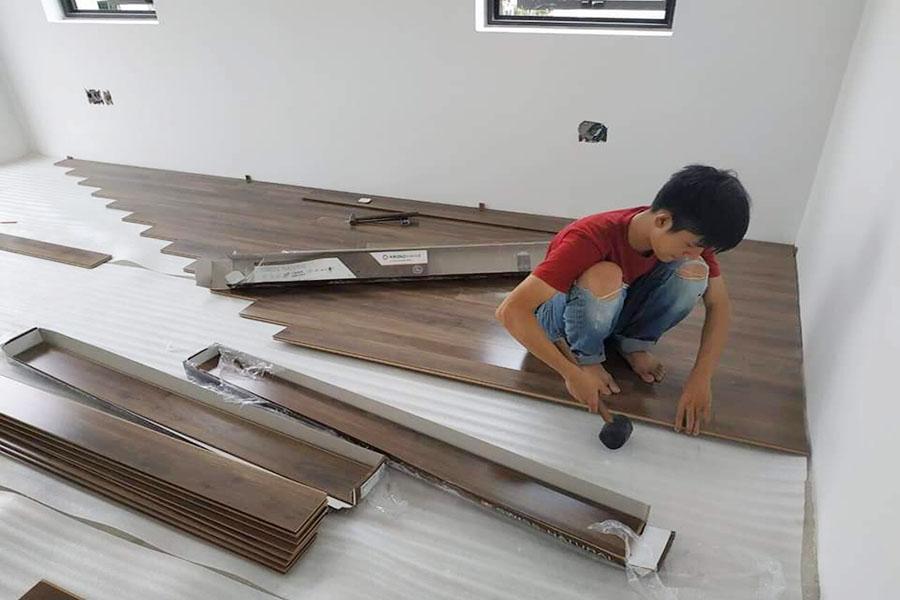 Thi công lắp đặt sàn gỗ biên hòa đồng nai