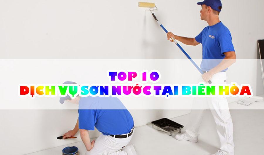 TOP 10 dịch vụ sơn nước uy tín tại Biên Hòa Đồng Nai