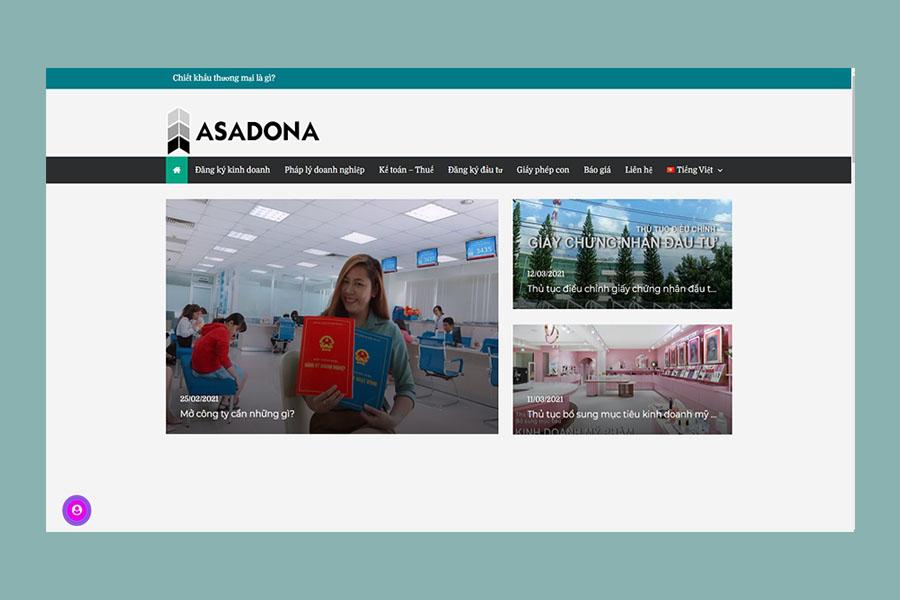 công ty dịch vụ kế toán asadona