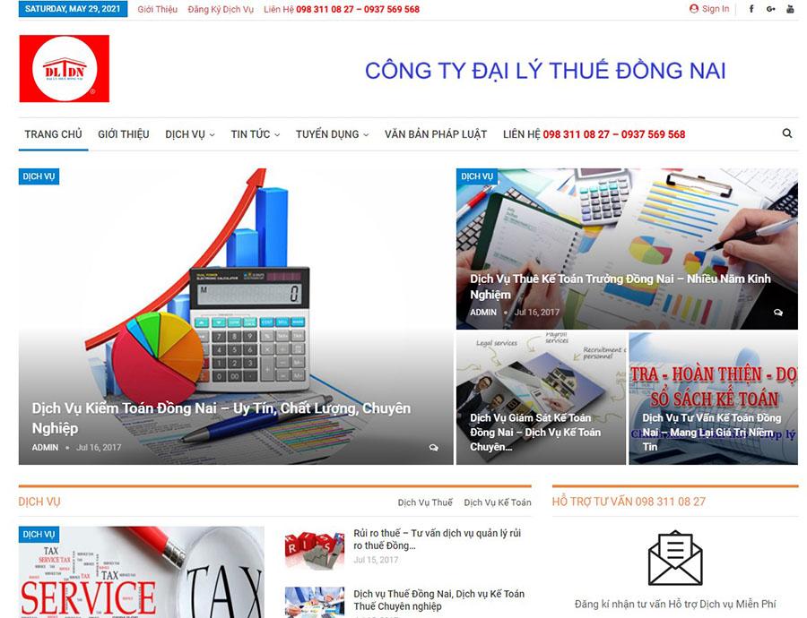 công ty dịch vụ kế toán đại lý thuế